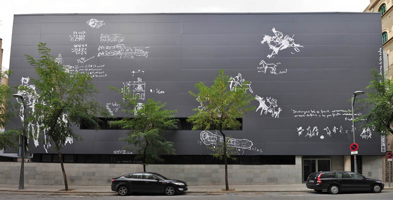 Fotografía mural en Barcelona