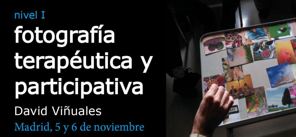 Taller de fotografía terapéutica en Madrid